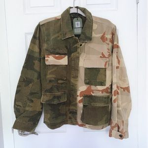 ALLSAINTS camo jacket. New with tags !!
